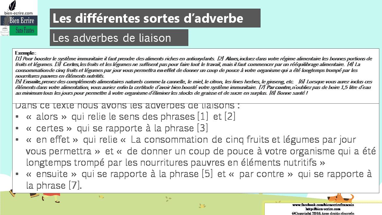 Les diff rents types d adverbes lieu mani re temps et - Les phrases de drague qui marchent a tout les coups ...