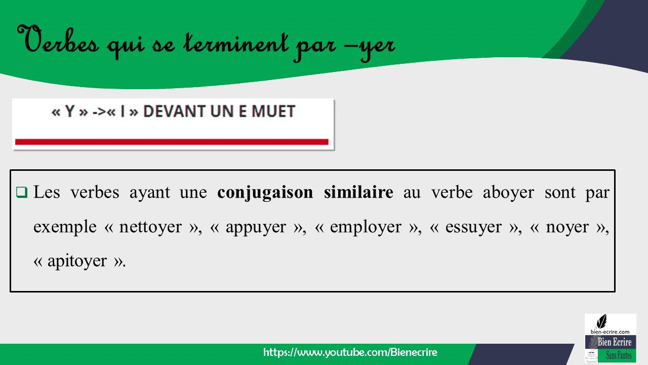Conjugaison Des Verbes Du 1er Groupe Pr Sent De L Indicatif Exceptions 2 Me Partie Bien Crire