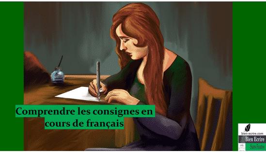 Comprendre les consignes en cours de français : justifiez, citez, transposez, relever