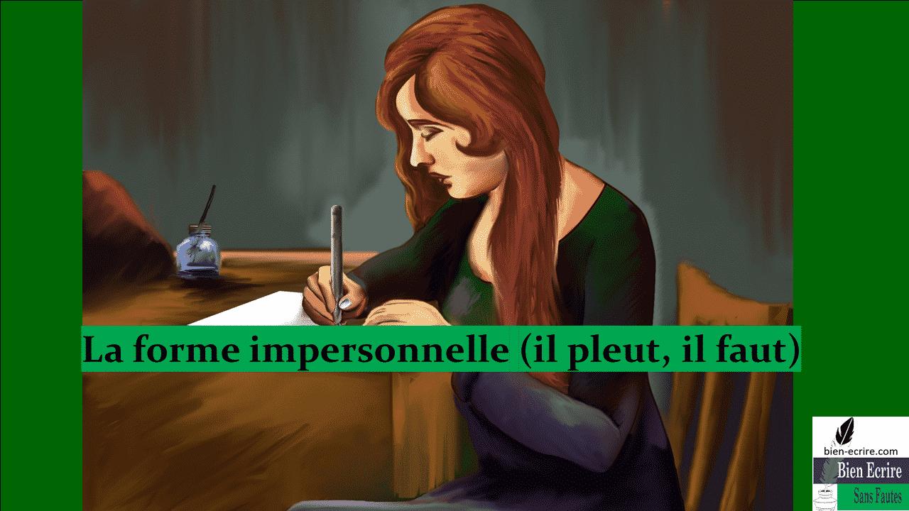 Czasowniki bezosobowe - nagłówek - Francuski przy kawie