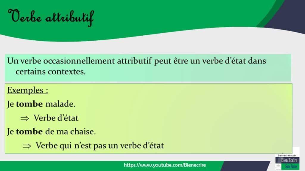 Verbe 17 Verbe Attributif Bien Ecrire