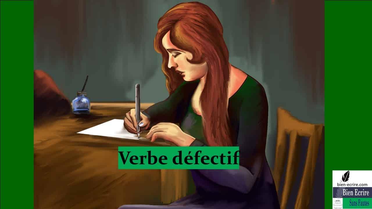 Verbe 18 – Verbe défectif