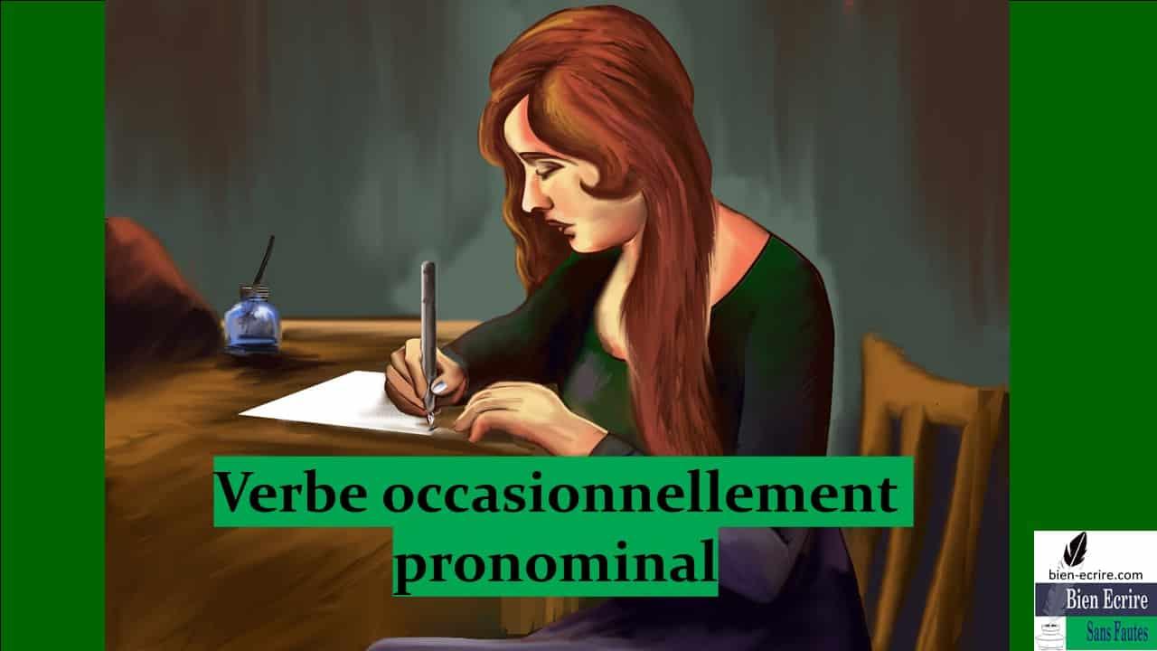 Verbe 11  – Verbe occasionnellement pronominal