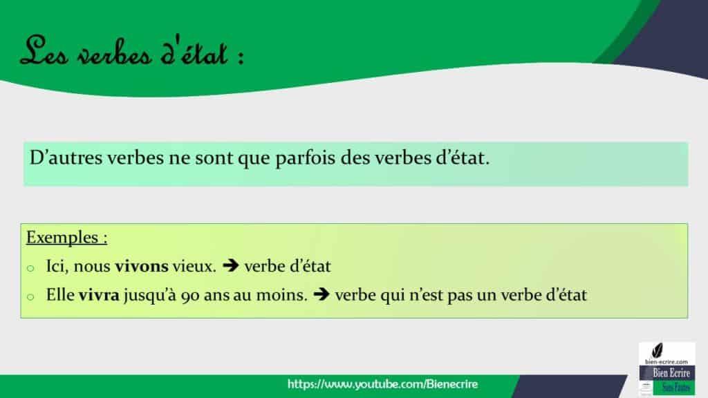 Verbe 16 Verbe D Etat Bien Ecrire
