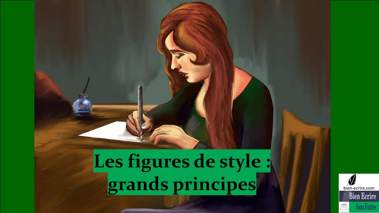 Figures de style 3 – Principes et classification