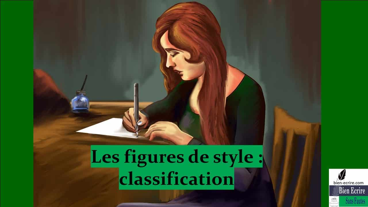 Figures de style 4- Une autre possibilité de classification