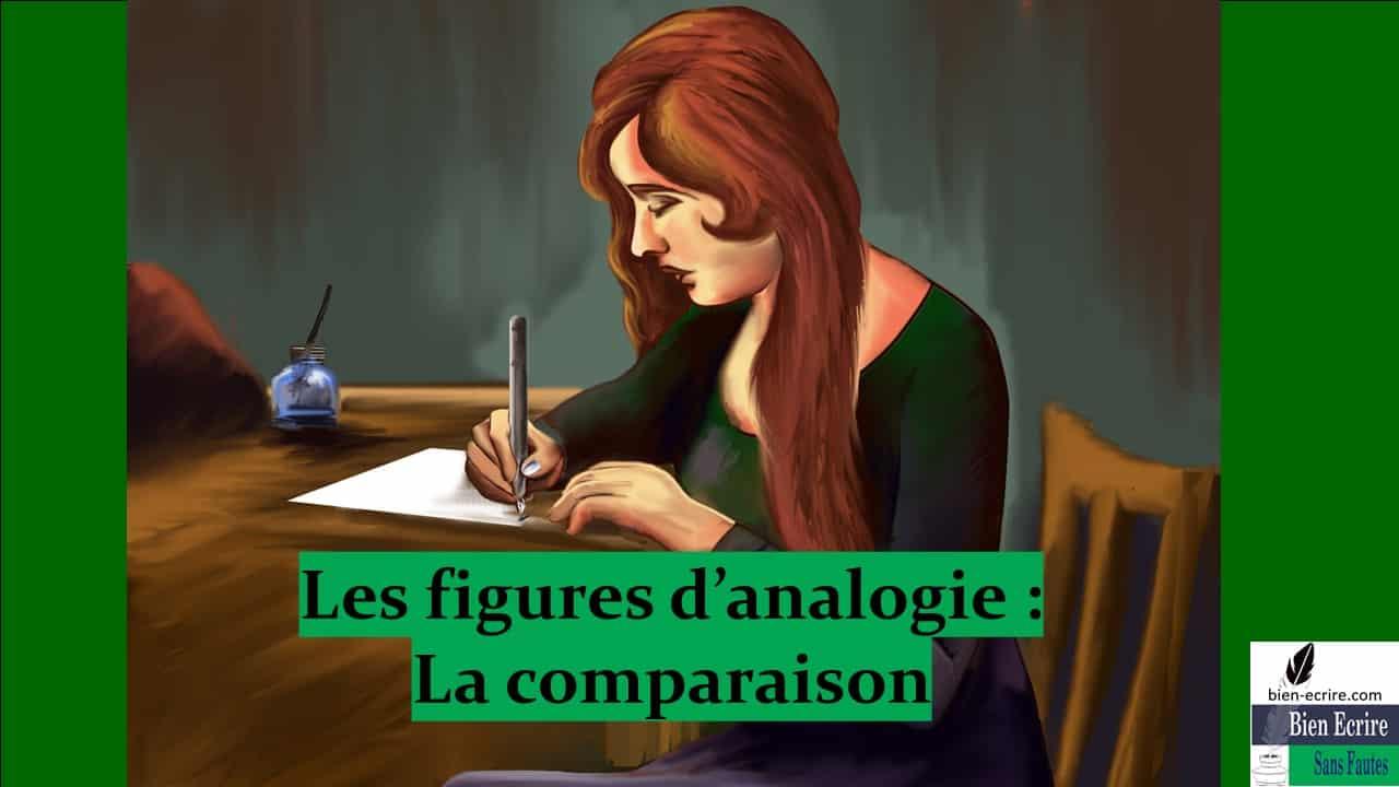 Figures d'analogie 3 – comparaison