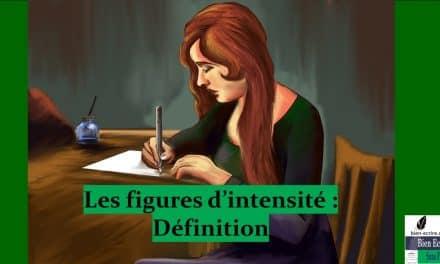 Figures d'intensité 1 – définition et classement