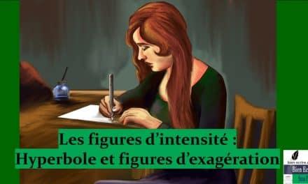 Figures d'intensité 2 – hyperbole et figures d'exagération