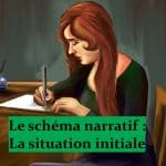 Schéma narratif 2 – situation initiale