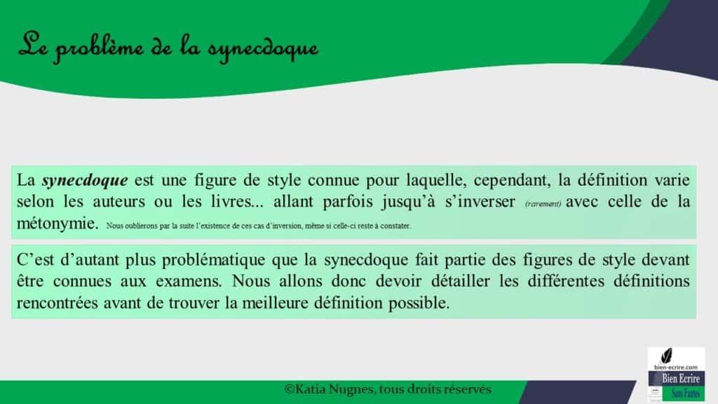 Figures d'analogie 8 - métonymie et synecdoque - Bien écrire