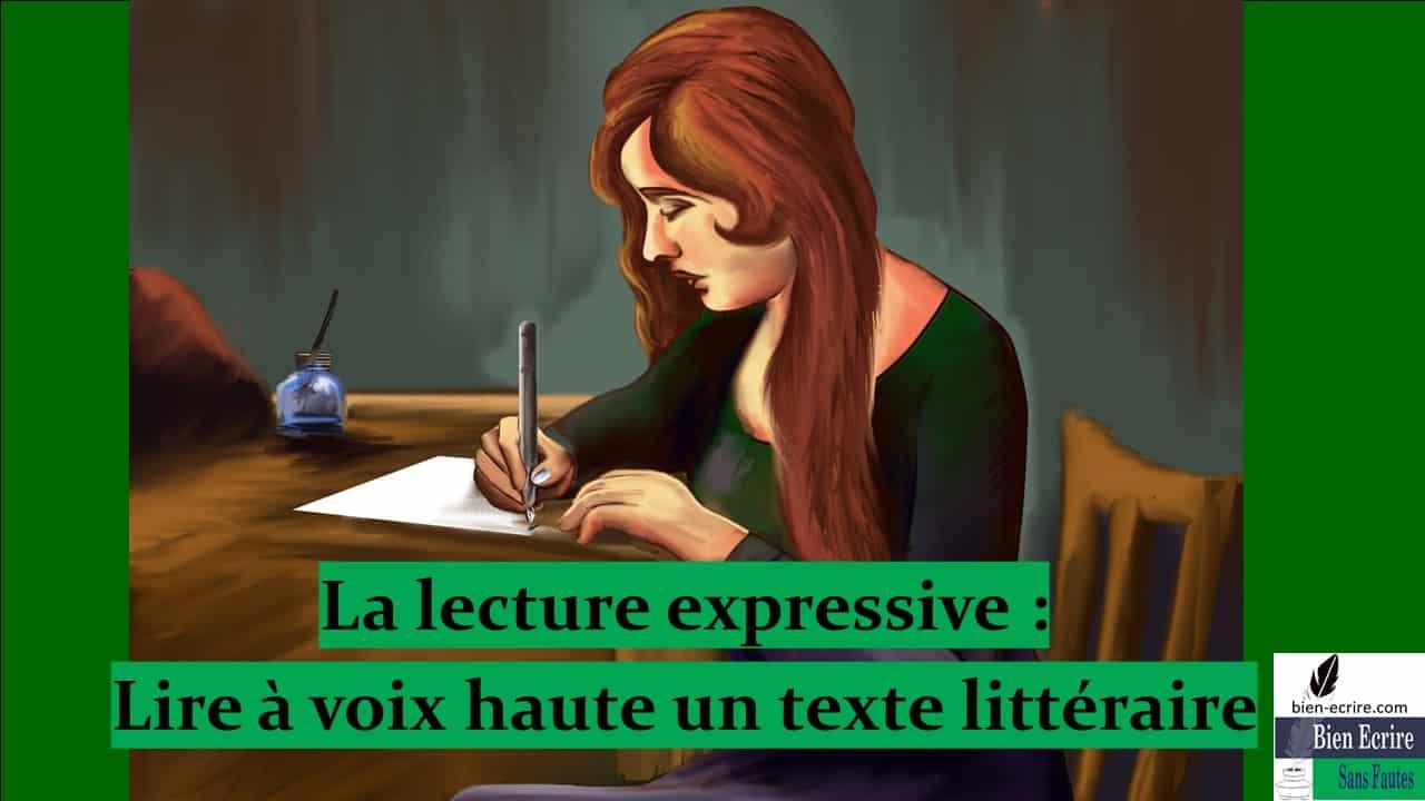 Lecture 1 – Lire de façon expressive