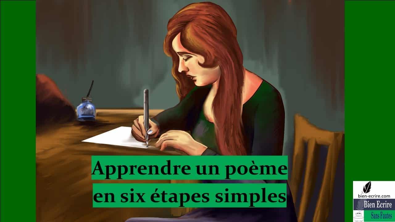 Apprentissage 1 – apprendre un poème facilement en 6 étapes simples