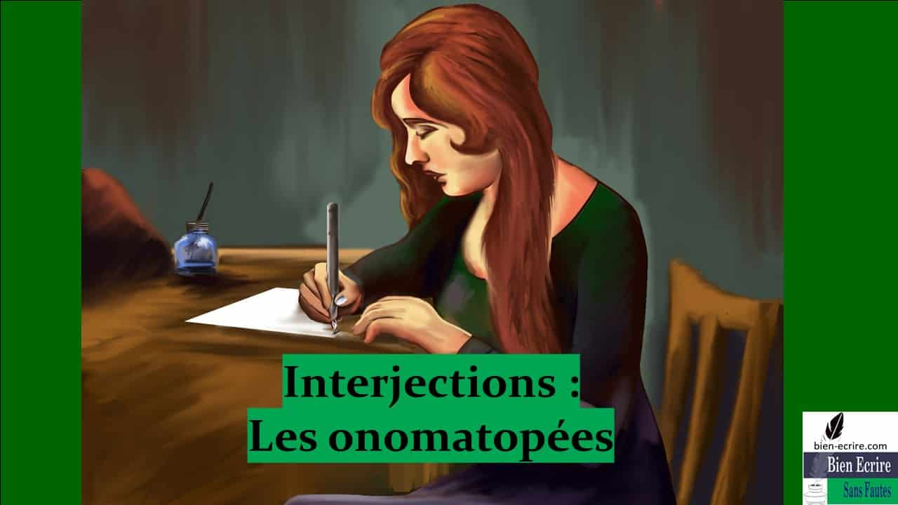 Interjection 2 – Onomatopées