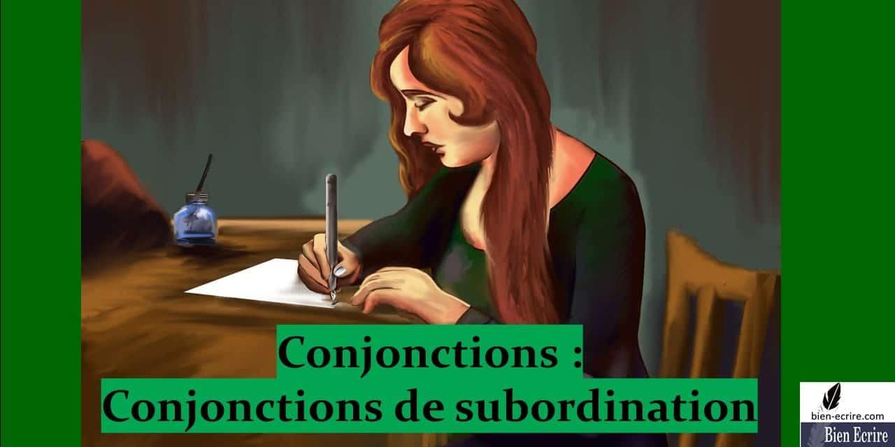 Conjonction 4 – Subordination