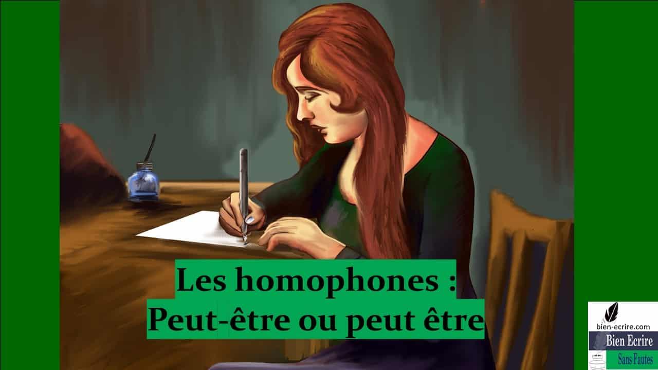 Homophone 19 – Peut être ou peut-être ?