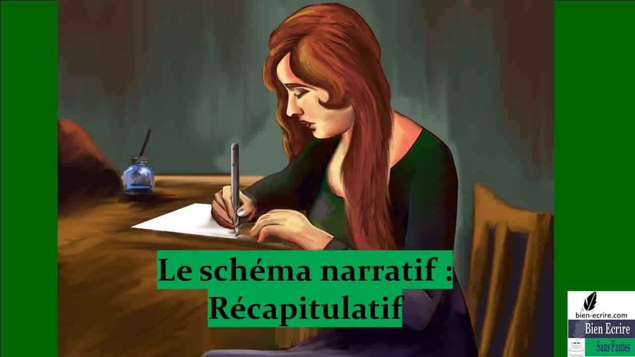 Schéma narratif 7 – Récapitulatif