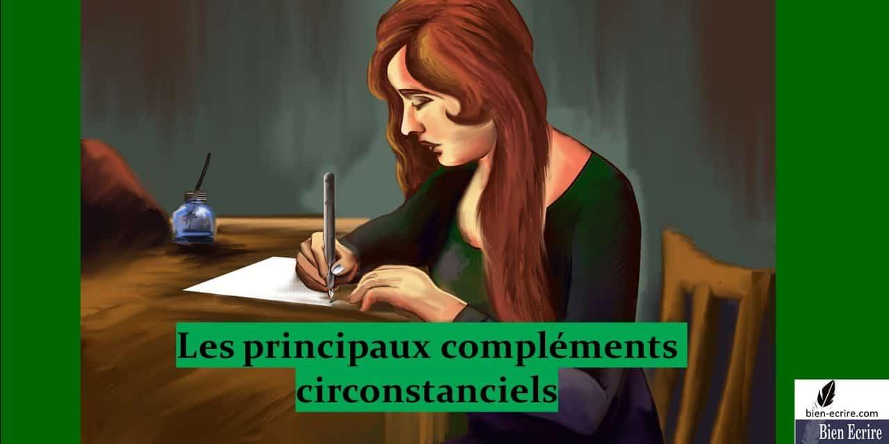 Syntaxe – les compléments circonstanciels