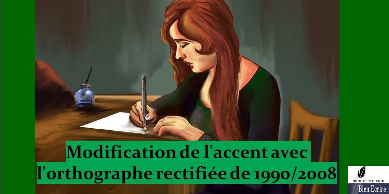Accent 2 – orthographe rectifiée de 1990