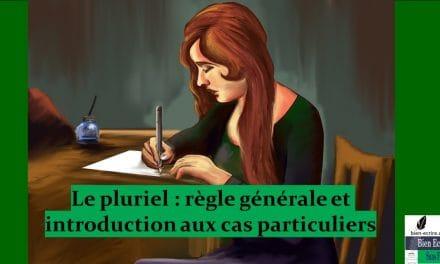 Noms pluriels 1 – règle générale