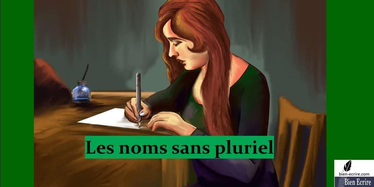 Noms pluriels 2 – sans pluriel