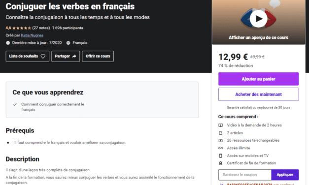 Conjuguer les verbes en français